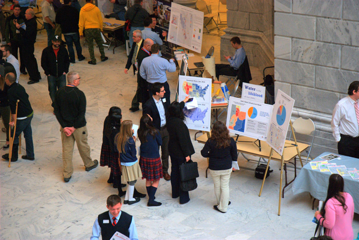 Utah Maps on the Hill 2015