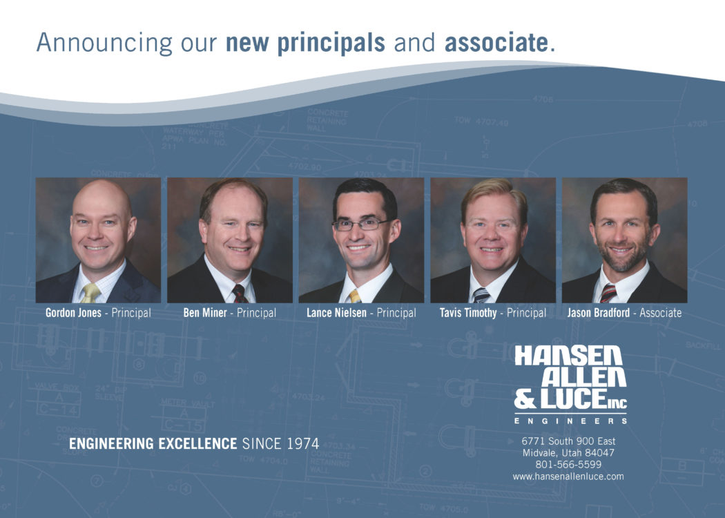 HAL announces new principals and associate