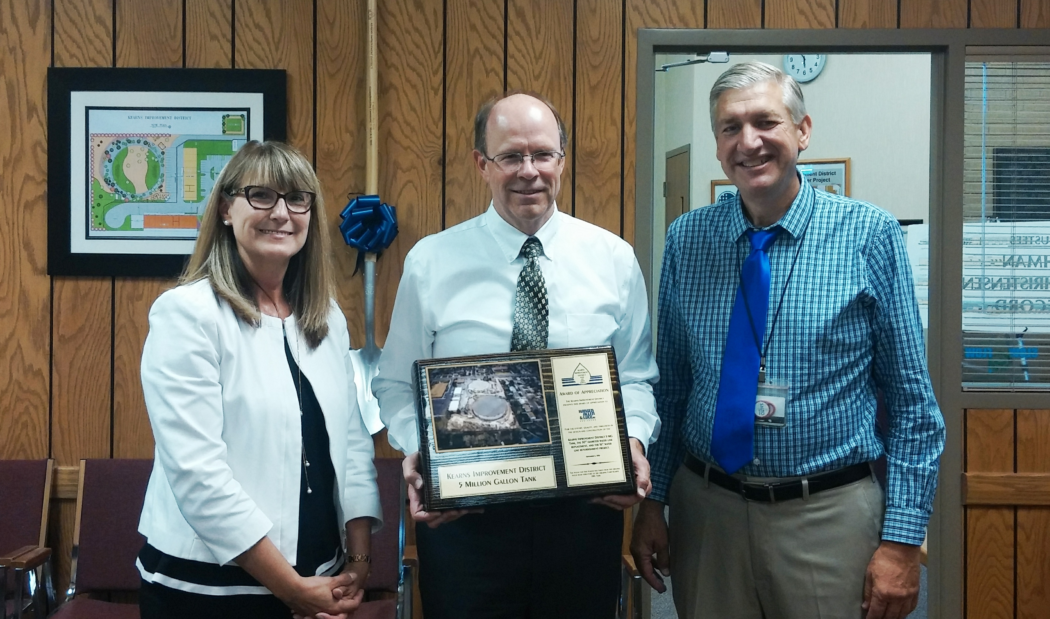 Kearns Improvement District awards HAL for design