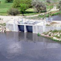 Jordan River Diversion Structure
