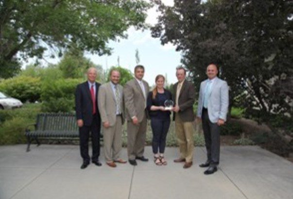 Jordan Valley Water honored for saving energy and money