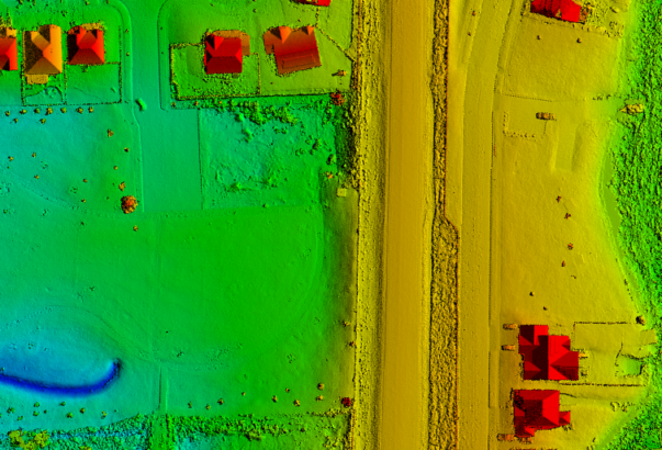 Drone provides efficient aerial and topographic surveys