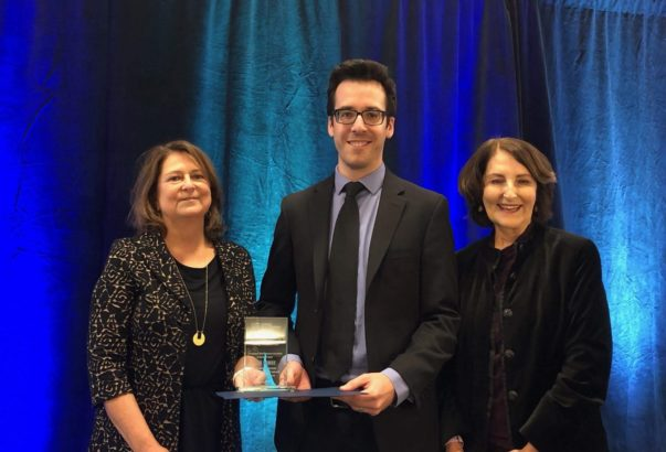 Sowby receives AWRA's Young Professional award