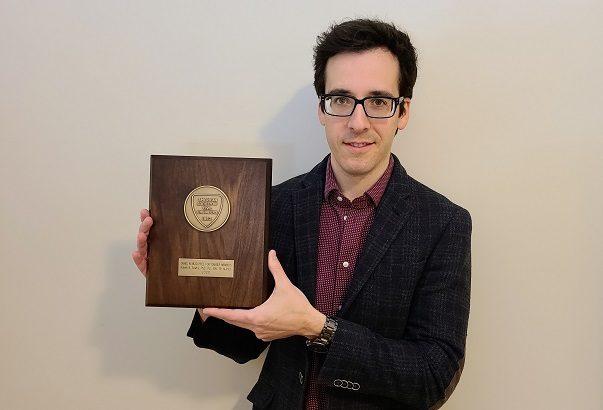 Sowby wins ASCE's Mead Prize