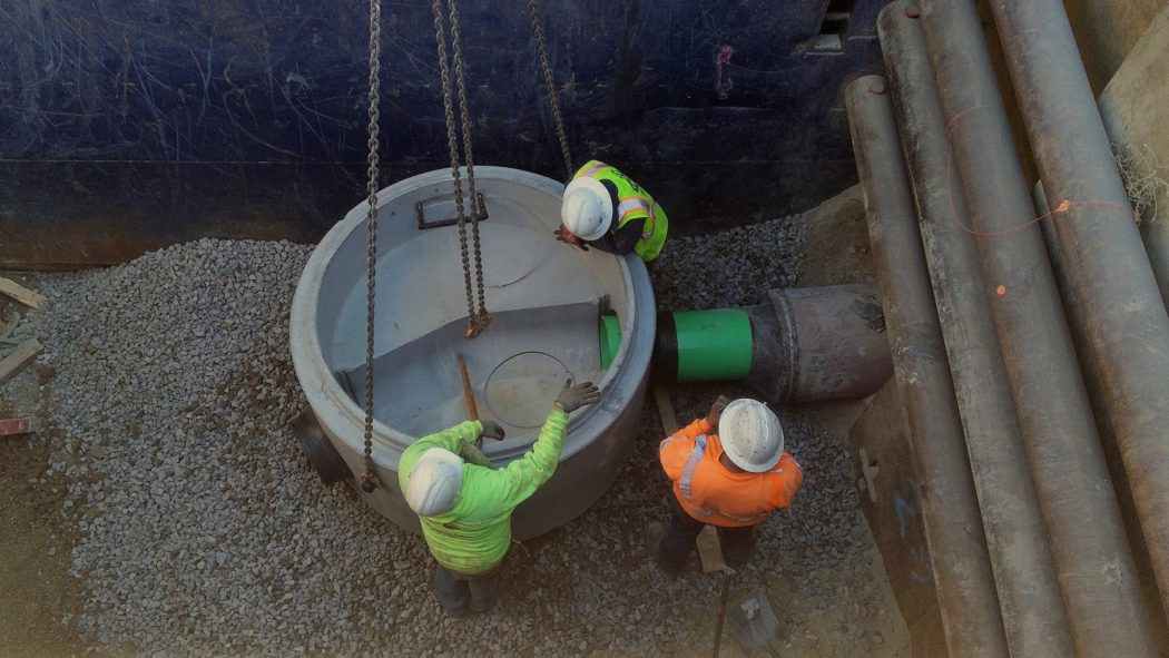 HAL supports sewer line relocation for Bangerter Highway improvements