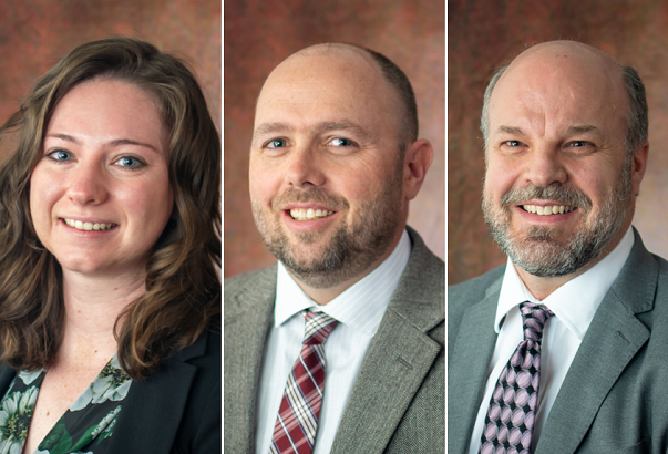 HAL welcomes trio of new employees