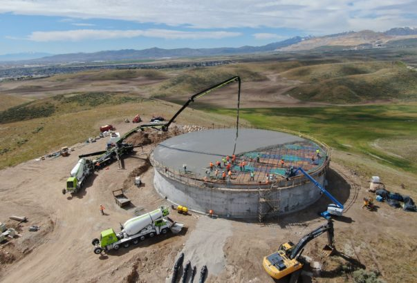 Kearns Improvement District 1.5 MG Tank, Pipeline and Pump Station